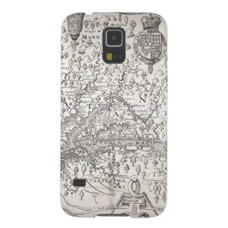 Virginia Map, 1612 Galaxy S5 Cases