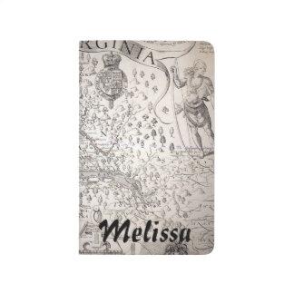 Virginia Map, 1612 Journal
