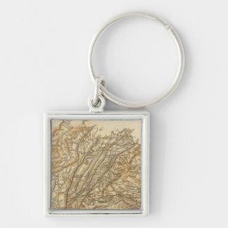 Virginia Map by Arrowsmith Key Ring