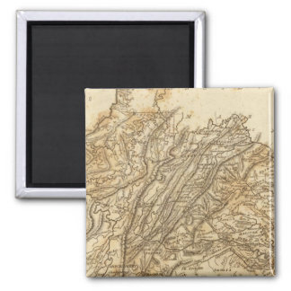 Virginia Map by Arrowsmith Magnet