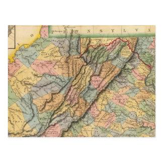 Virginia, Maryland 2 Postcard