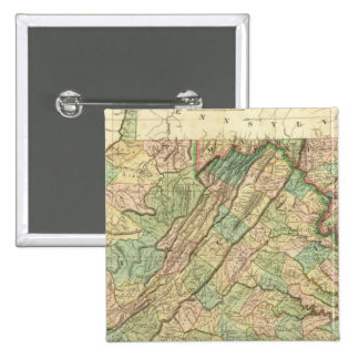 Virginia, Maryland and Delaware 15 Cm Square Badge