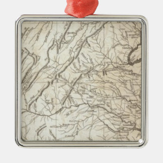 Virginia, Maryland and Delaware Christmas Ornament