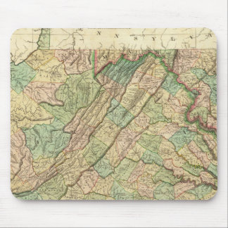 Virginia, Maryland and Delaware Mouse Mat