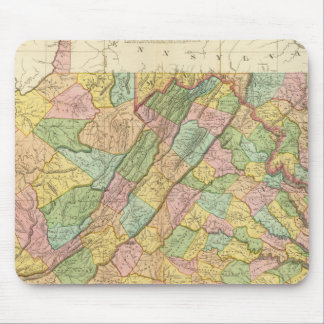 Virginia Maryland and Delaware Mouse Mat