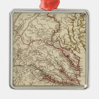 Virginia, Maryland Christmas Ornament