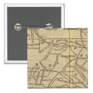 Virginia, Maryland, Delaware 15 Cm Square Badge
