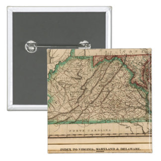 Virginia, Maryland, Delaware 15 Cm Square Badge