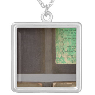 Virginia, Maryland, Delaware 2 Silver Plated Necklace