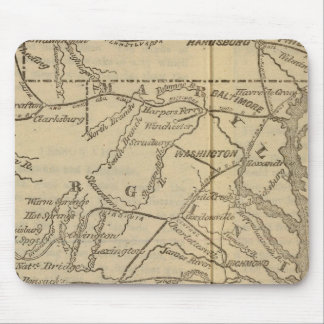 Virginia, Maryland, Delaware Mouse Mat