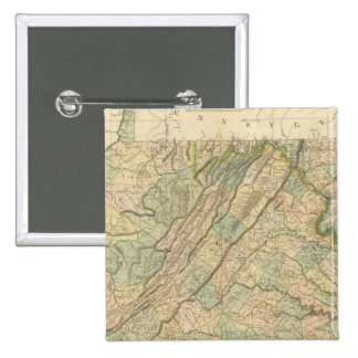 Virginia, Maryland, Delware 15 Cm Square Badge