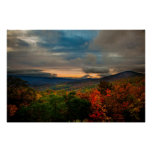Virginia Mountain Sunset Print