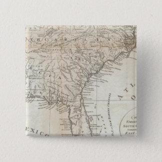 Virginia, North Carolina, South Carolina 15 Cm Square Badge