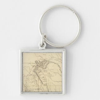 Virginia, North Carolina, South Carolina 2 Key Ring