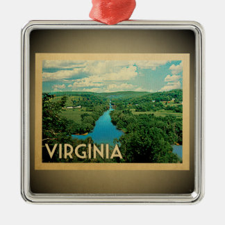 Virginia Ornament Vintage Travel