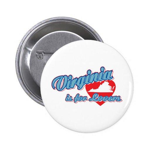 Virginia Pinback Buttons