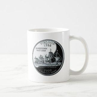 Virginia Quarter Coffee Mug