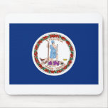 Virginia State Flag Mousepads