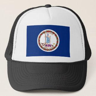 virginia state flag united america republic symbol trucker hat