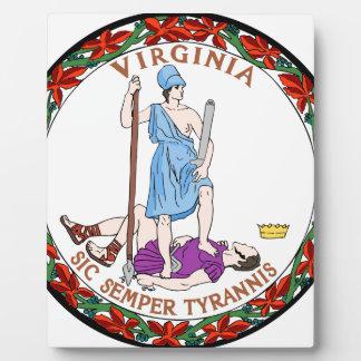 Virginia state seal.jpg plaque
