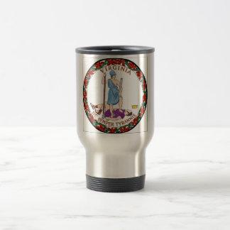 Virginia State Seal Travel Mug