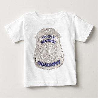Virginia State Trooper Police Badge Tshirt