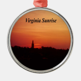 Virginia Sunrise Christmas Ornament