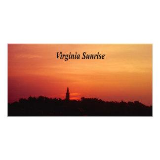 Virginia Sunrise Photo Greeting Card