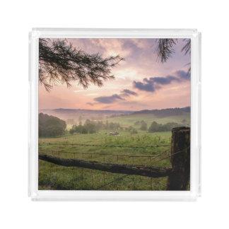 Virginia Sunset Acrylic Tray