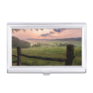 Virginia Sunset Business Card Holder