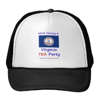 Virginia TEA Party - We're Taxed Enough Already! Cap