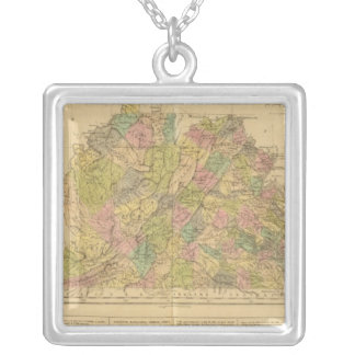 Virginia US Silver Plated Necklace