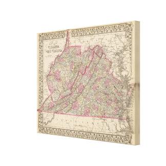 Virginia, W Virginia Canvas Print