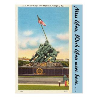 Virginia, War Memorial, Arlington Postcard