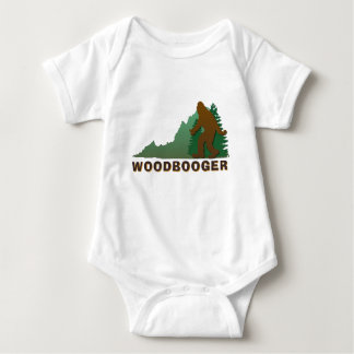 Virginia Woodbooger Baby Bodysuit