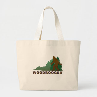 Virginia Woodbooger Jumbo Tote Bag