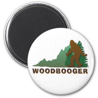 Virginia Woodbooger Magnets