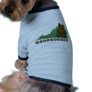 Virginia Woodbooger Pet T-shirt