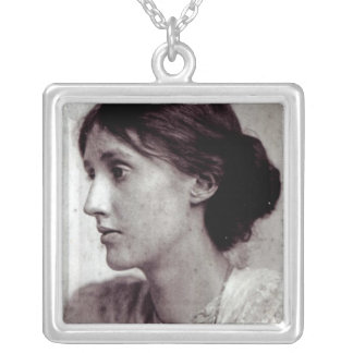 Virginia Woolf, 1902 Silver Plated Necklace