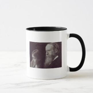Virginia Woolf and her father Sir Leslie Mug