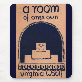Virginia Woolf  Book Cover A Room of One's Own Mouse Mat