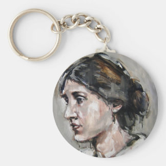Virginia Woolf Key Ring