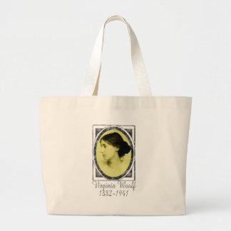 Virginia Woolf Large Tote Bag