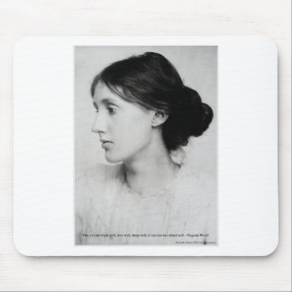 "Virginia Woolf ""Love Well"" Love Quote Mugs & Gifts Mouse Mat"