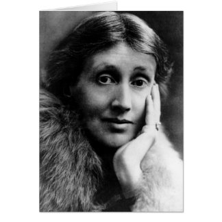 Virginia Woolf Portrait Card