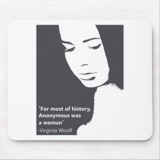 Virginia Woolf quote Mouse Mat