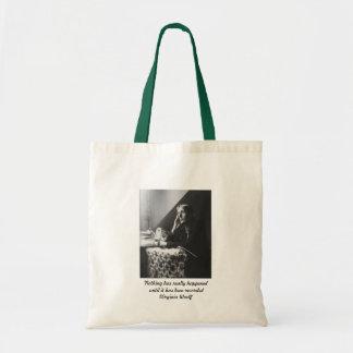 Virginia Woolf Budget Tote Bag