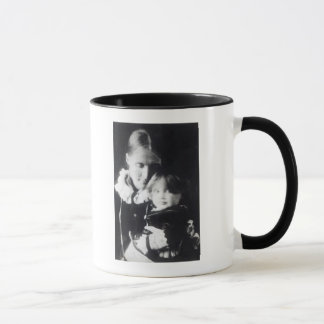 Virginia Woolf, with her mother Julia, 1884 Mug