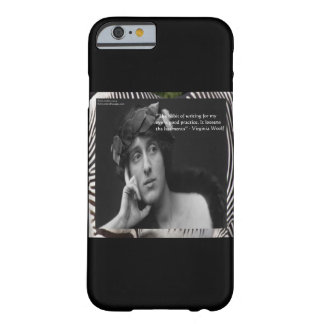 Virginia Woolf & Writing Quote iPhone 6 Case