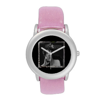 Virginia Woolf & Writing Quote Womens Watch